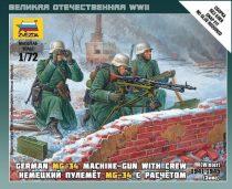 Zvezda German Machine-gun w/Crew