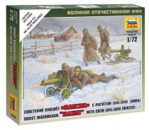 Zvezda Soviet Machine-gun w/Crew