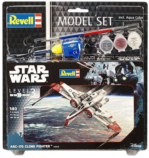 Revell Model Set ARC-170 Fighter makett