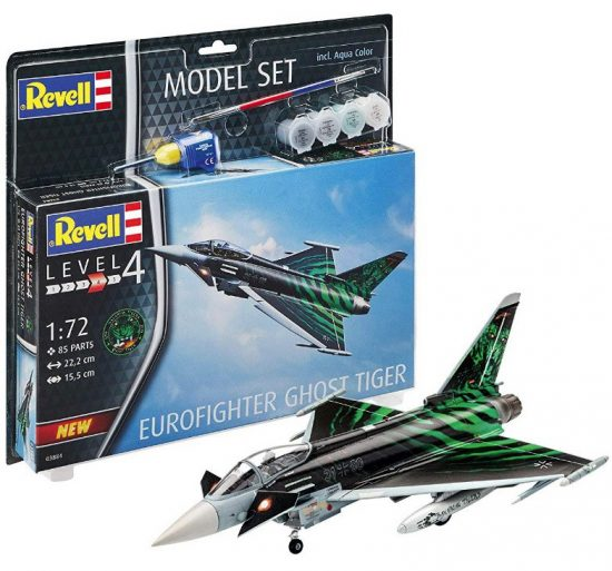 "Revell Model Set Eurofighter ""Ghost Tiger"" makett"