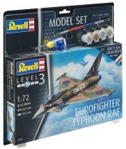 Revell Model Set 100 Years RAF - Eurofighter Typhoon RAF makett