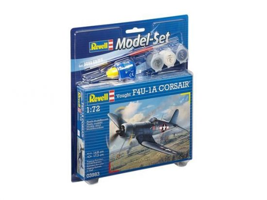 Revell Model Set Vought F4U-1D CORSAIR makett