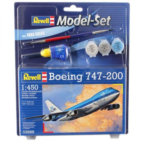 Revell Model Set Boeing 747-200 makett