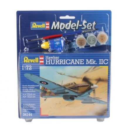 Revell Model Set Hawker Hurrican makett
