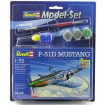 Revell Model Set P-51D Mustang makett