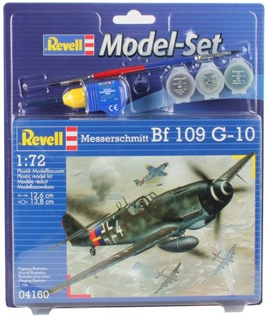 Revell Model Set Messerschmitt Bf-109 G-10