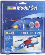 Revell Model Set Fokker D VII makett