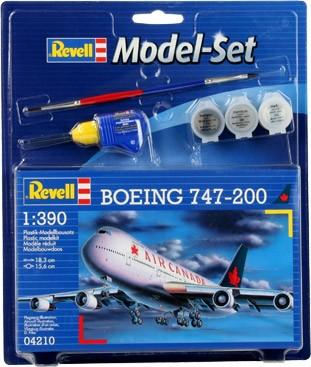 Revell Model Set Boeing 747