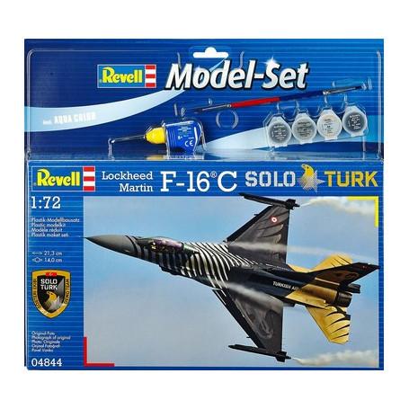 Revell Model Set Lockheed Martin F-16 C Solo Türk makett
