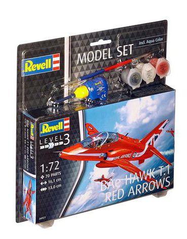 Revell Model Set BAe Hawk T.1 Red Arrows makett
