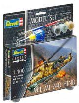 Revell Model Set Mil Mi-24D Hind makett