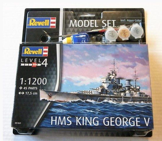 Revell Model Set HMS King George V makett