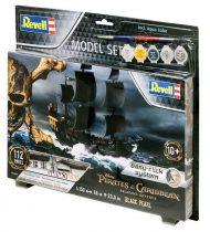 Revell Model Set Black Pearl Pirate Ship makett