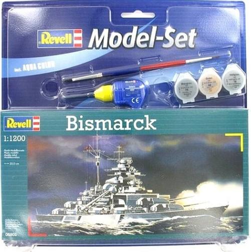 Revell Model Set Bismarck makett