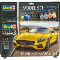 Revell Model Set Mercedes-AMG GT makett