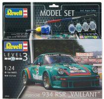 "Revell Model Set Porsche 934 RSR ""Vaillant"" makett"