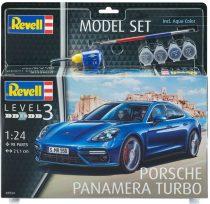 Revell Model Set Porsche Panamera Turbo makett