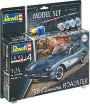 Revell Model Set '58 Corvette Roadster makett