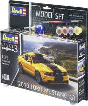 Revell Model Set 2010 Ford Mustang GT makett