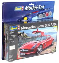Revell Model Set Mercedes SLS AMG makett