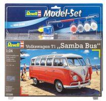Revell Model Set Volkswagen T1 Samba Bus makett