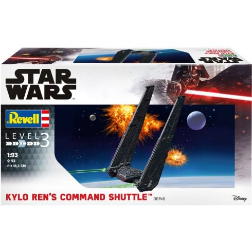 Revell Star Wars - Kylo Ren's Command Shuttle makett