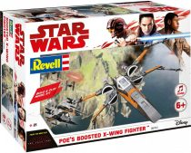 Revell Star Wars - Poe's Boosted X-Wing Fighter Build & Play makett