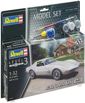 Revell Model Set Corvette C3 makett