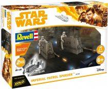 Revell Star Wars - Imperial Patrol Speeder Build & Play makett
