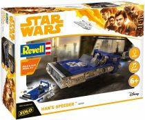 Revell Star Wars - Han Solo Speeder Build & Play makett