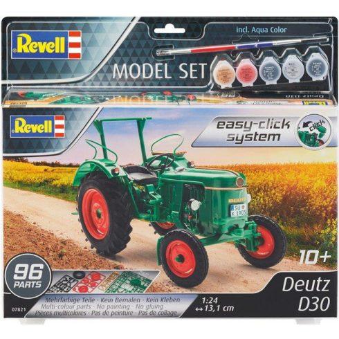 Revell Model Set DEUTZ D30 easy-click makett