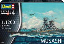Revell Musashi makett