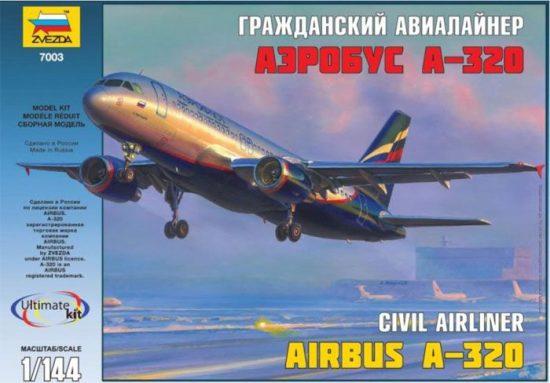 Zvezda Airbus A-320 makett