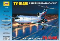 Zvezda - Tupolev Tu-154M Russian Airliner makett