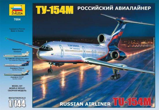 Zvezda - Tupolev Tu-154M Russian Airliner