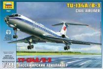 Zvezda Tupolev Tu-134B makett