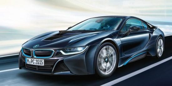 Revell BMW i8 makett