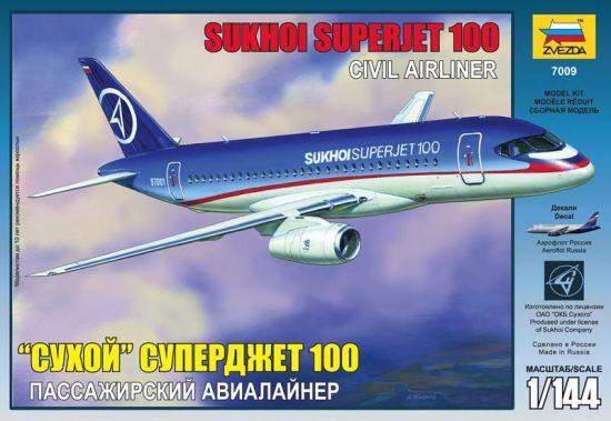 Zvezda Sukhoi Superjet 100 makett