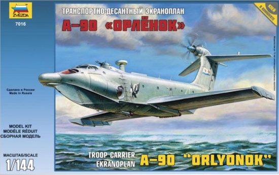 Zvezda Ekranoplan A-90 makett