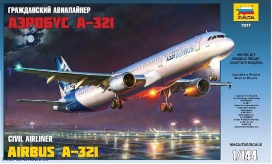 Zvezda Airbus A-321 makett