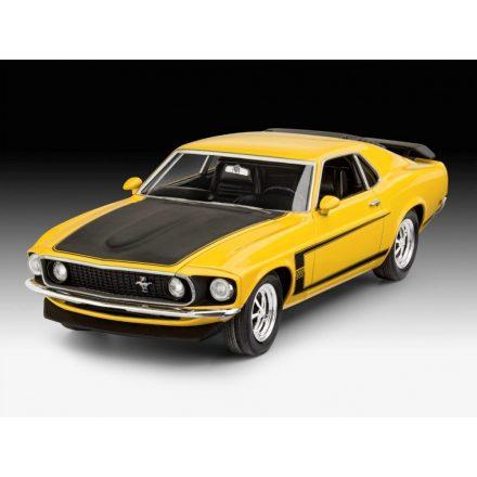 Revell 1969 Ford Mustang Boss 302makett
