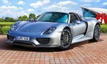 Revell Porsche 918 Spyder makett