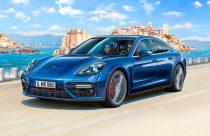 Revell Porsche Panamera Turbo makett