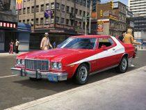 Revell '76 Ford Torino makett