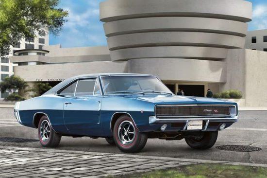 Revell 1968 Dodge Charger R/T makett