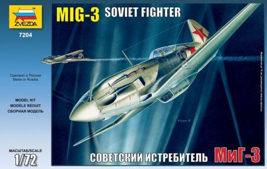 Zvezda MiG-3 Soviet Fighter makett