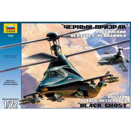 Zvezda KAMOV Ka-58 'Black Ghost' stealth helicopter makett
