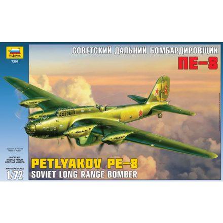 Zvezda Petljakov Pe-8 Soviet long range bomber makett