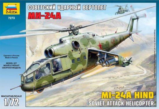 Zvezda Mil Mi-24A Hind makett