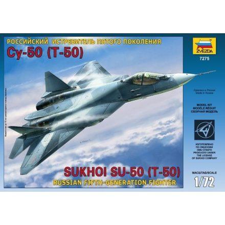 Zvezda Sukhoi T-50 makett